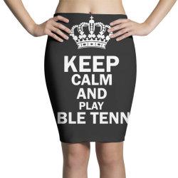 table tennis1 Pencil Skirts | Artistshot