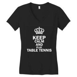 table tennis1 Women's V-Neck T-Shirt | Artistshot