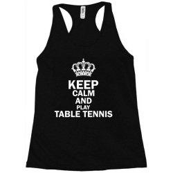 table tennis1 Racerback Tank | Artistshot