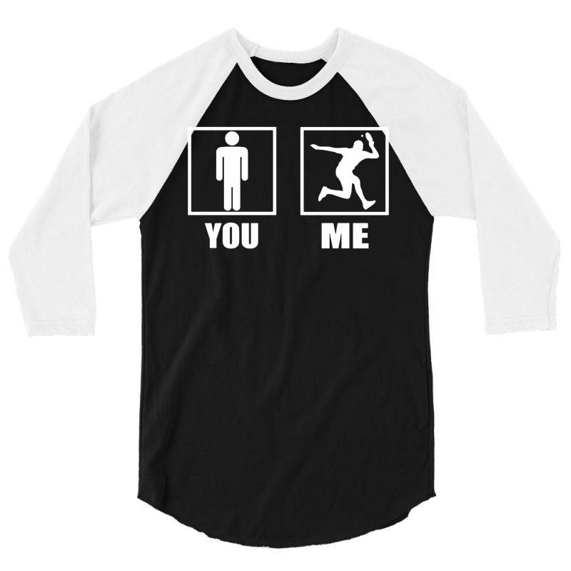 Table Tennis Players Are Awesome 3/4 Sleeve Shirt | Artistshot