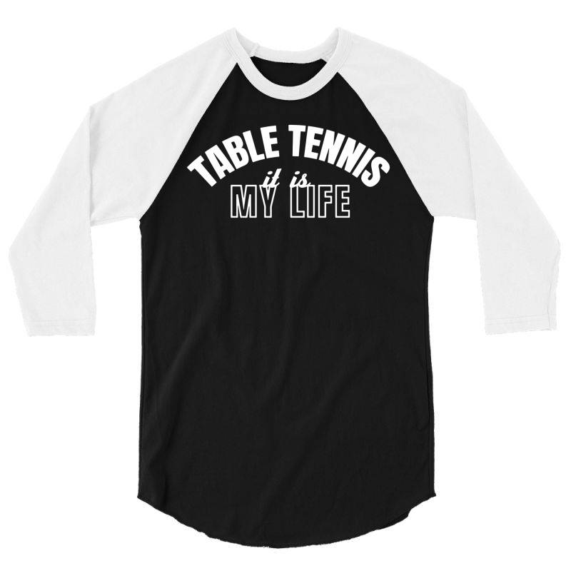 Table Tennis 3/4 Sleeve Shirt   Artistshot