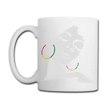 Afro Woman Coffee Mug Designed By Blqs Apparel