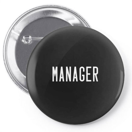 Manager Company Team Leader Boss Pin-back Button Designed By Romeo And Juliet