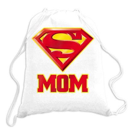 Mom T Shirt, Womens Super Mom T Shirt Drawstring Bags Designed By Time5803