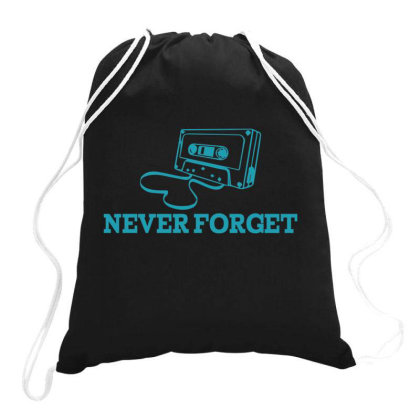 Never Forget  Funny T Shirt Drawstring Bags Designed By Gnuh79