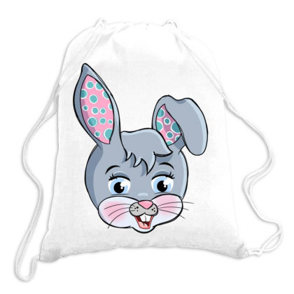 Colorful Easter Rabbit Drawstring Bags Designed By Honeysuckle
