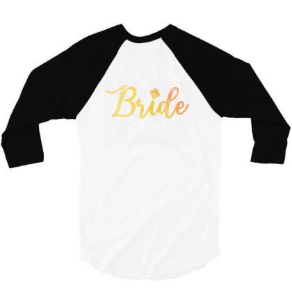 Bride 3/4 Sleeve Shirt Designed By Akin