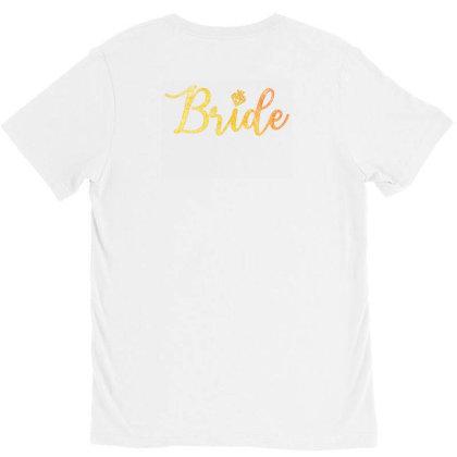 Bride V-neck Tee Designed By Akin
