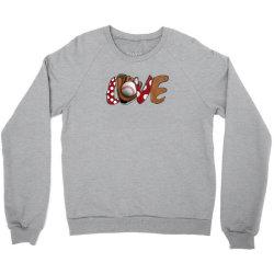 Love Baseball Crewneck Sweatshirt | Artistshot