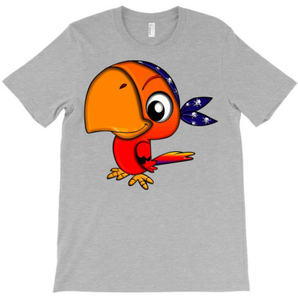 Pirate Parrot T-shirt Designed By Kishi Shameera