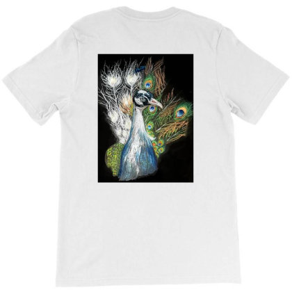 Peacock T-shirt Designed By Amna Usman