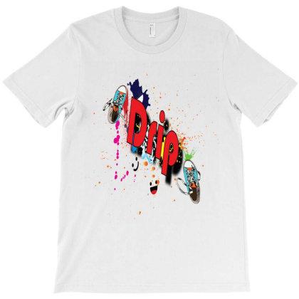 Drip Splashes T-shirt Designed By Glitch Lamar