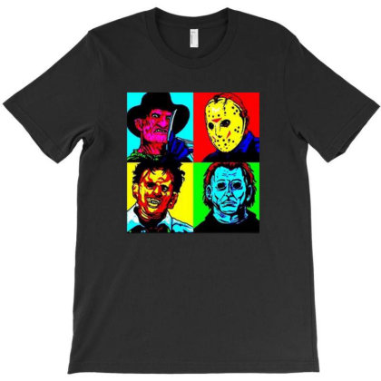 Horror Squad T-shirt Designed By Drianes