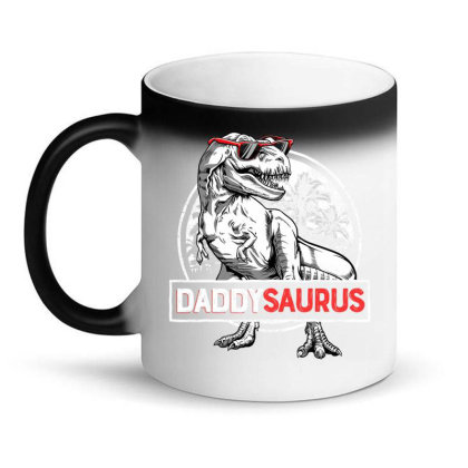 Daddysaurus T Shirt Fathers Day Gifts T Rex Daddy Saurus Men Magic Mug Designed By Time5803