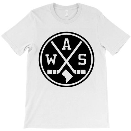 Retro Washington Dc Hockey T-shirt Designed By Rosdiana Tees