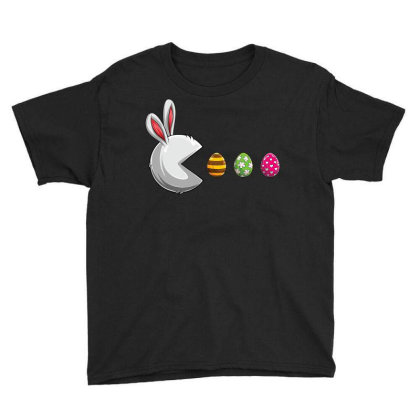 Happy Easter Day Bunny Egg Funny Boys Girls Kids Easter T Shirt Youth Tee