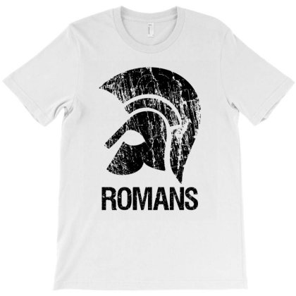 Roman Helm T-shirt Designed By Cypryanus