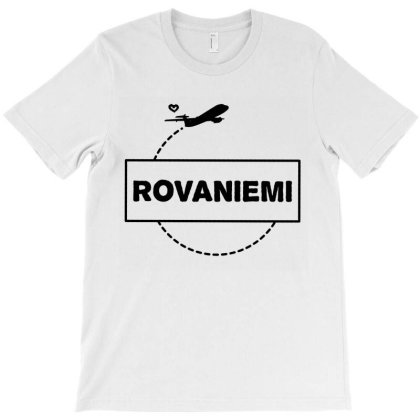 Rovaniemi Airport T-shirt Designed By Rosdiana Tees