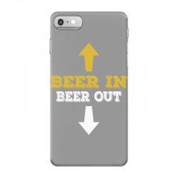Beer in Beer out iPhone 7 Case | Artistshot