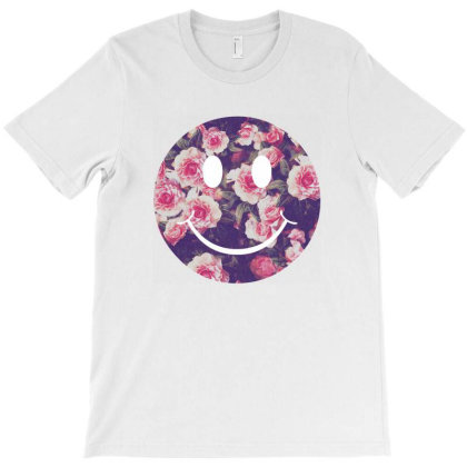 Happy Face T-shirt Designed By Nrysber