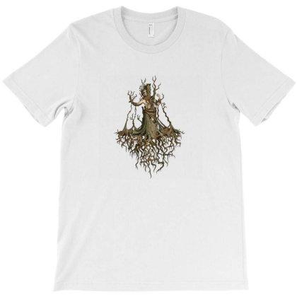 Tree Man T-shirt Designed By Nrysber