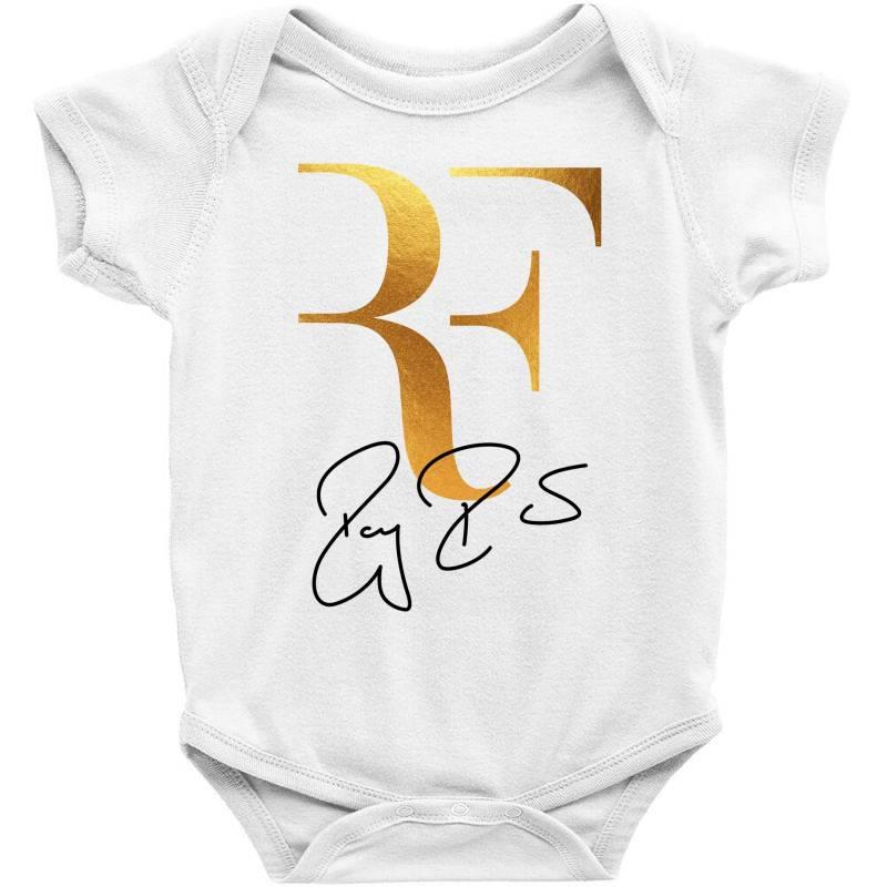 Federer Rf Baby Bodysuit | Artistshot
