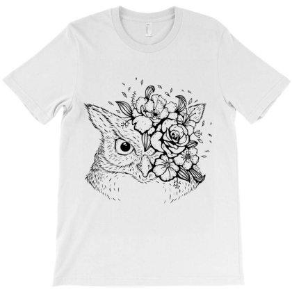 Owl 2 T-shirt Designed By Costom