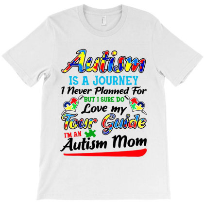 Autism Mom Shirt Autism Awareness T-shirt Designed By Ainazee Tees