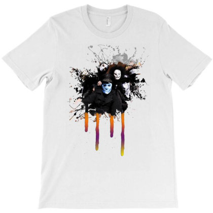 Hollywood Undead Band Photo T-shirt Designed By Funtee