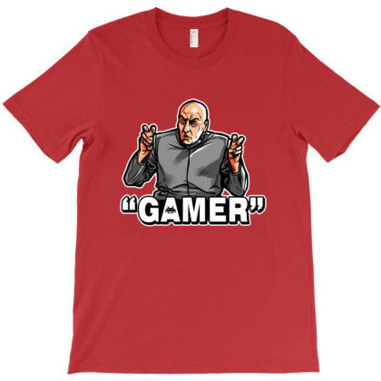 Air Quotes Gamer T-shirt Designed By Clatons