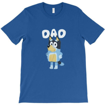 Bluey Charaters Family T-shirt Designed By Clatons