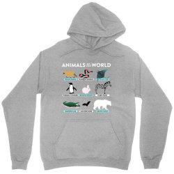 animals of the world the original t shirt Unisex Hoodie | Artistshot