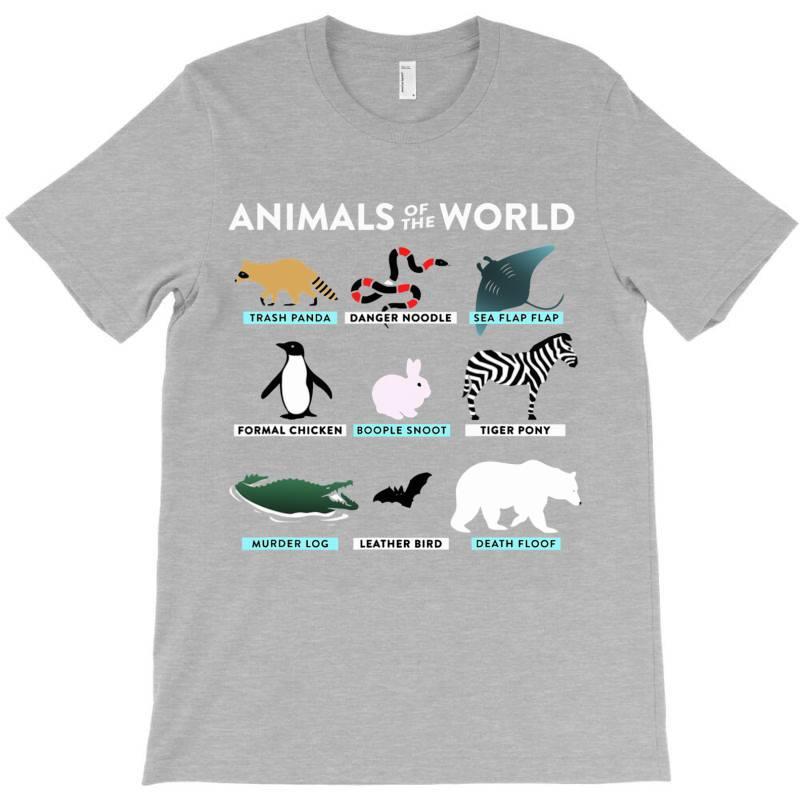 Animals Of The World The Original T Shirt T-shirt | Artistshot
