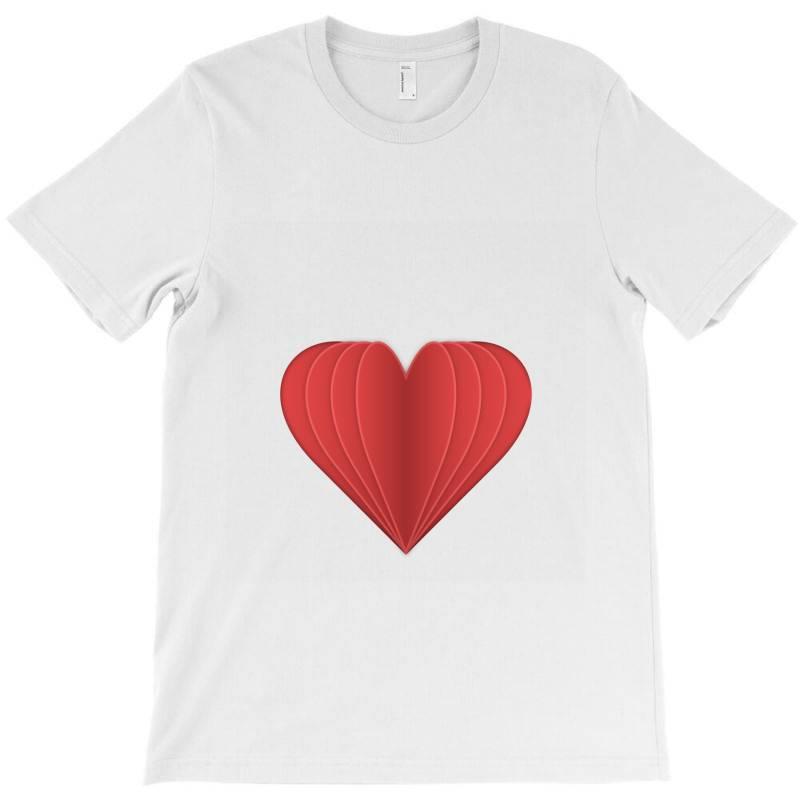 Heart T-shirt   Artistshot