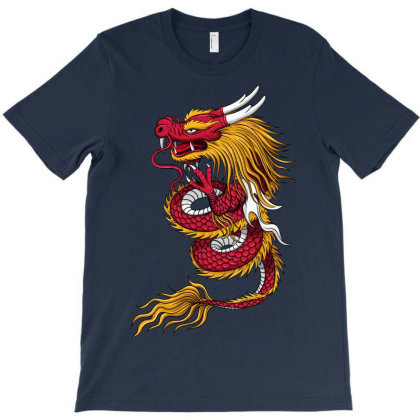 Dragon Art T-shirt Designed By Chiks