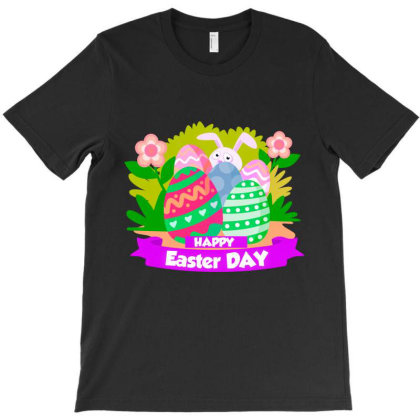 Happy Easter T-shirt Designed By Chiks