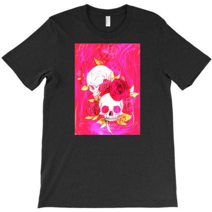Calavera Skull T-shirt Designed By Àmjdesigns