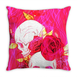Calavera skull Throw Pillow | Artistshot