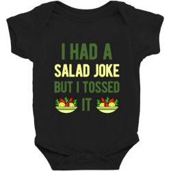 Funny Salad Baby Bodysuit Designed By Adamharfii