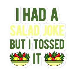 Funny Salad Sticker Designed By Adamharfii