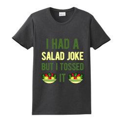 Funny Salad Ladies Classic T-shirt Designed By Adamharfii
