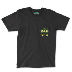 Funny Salad Pocket T-shirt Designed By Adamharfii