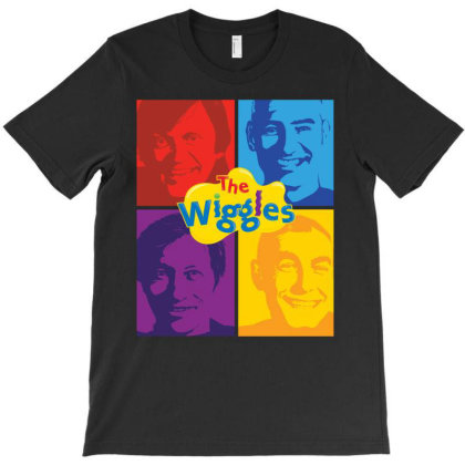 The Wiggles T-shirt Designed By Ardha Shop