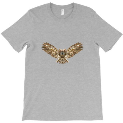Owl T-shirt Designed By Vryens