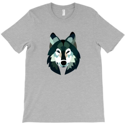 Wolf T-shirt Designed By Vryens