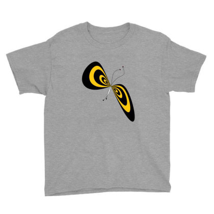 Butterfly Youth Tee Designed By Flyingbird