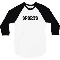 sports gift 3/4 Sleeve Shirt   Artistshot