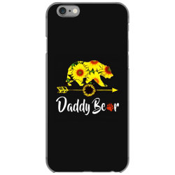 daddy bear sunflower iPhone 6/6s Case | Artistshot