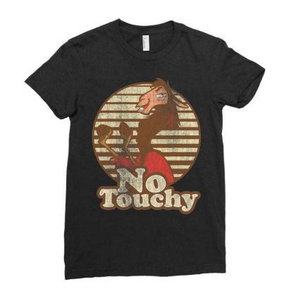 Emperor's New Groove Kuzco Llama No Touchy T Shirt T Shirt Ladies Fitted T-shirt Designed By New121