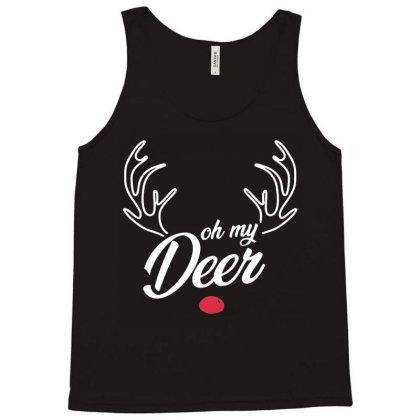 Trendy Oh My Deer Christmas Premium Tank Top Designed By Creative Tees